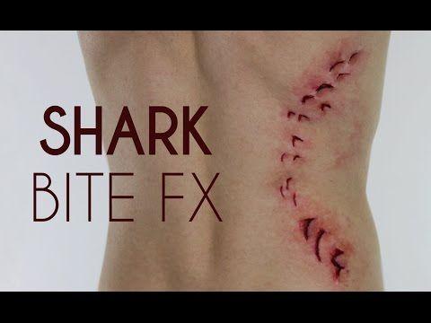 Make Up Through My Eyes - ShowMe MakeUp — SHARK BITE SFX TUTORIAL I partnered up with Sony...