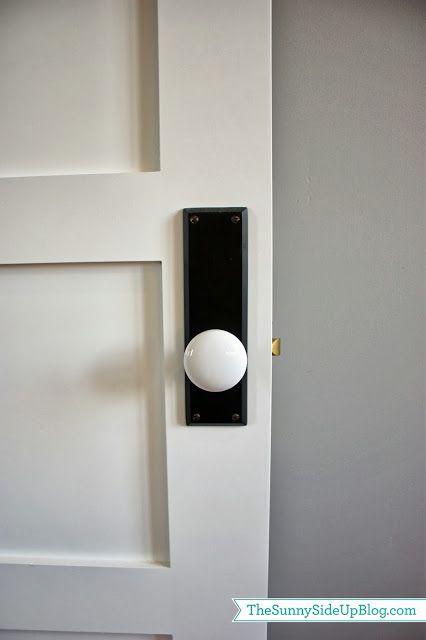 kinda like these white porcelain door knobs