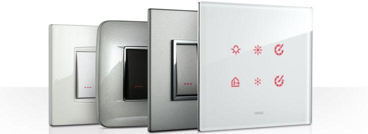 Vimar serie EIKON - lusso e tecnologia a quattro dimensioni. Scopri Eikon http://www.vimar.com/it/it/eikon-lusso-e-tecnologia-a-quattro-dimensioni-1037122.html