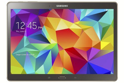 "Samsung Galaxy Tab S 10.5"" Titanium Bronze Tablet OCTA-Core 1.9GHz 3GB Ram 16GB HDD Android Kit Kat 4.4; PRICE:£299.99; ENGAGE & ENTERTAIN ALL the family; BRIGHT & VIVID Graphics; MULTI-Window; Easy BROWSING/watching MOVIES/reading e-BOOKS/MAGAZINES on the GO. ""SUPERB Tablet, OUTSTANDING Screen"" – By Amberley Kent.  MORE via: http://www.sd4shila.net/uk-visitors OR http://sd4shila.creativesolutionstore.com/inter-links.html OR http://sd4shila.creativesolutionstore.com OR http://www.sd4shila.net"