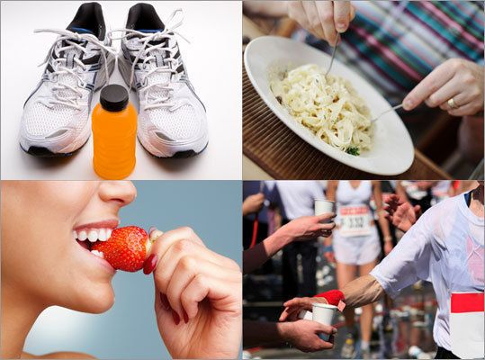 Nutrition: What to eat while training for a marathon