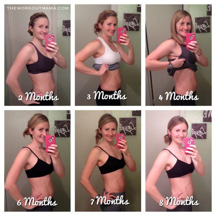 normal weight loss 6 weeks postpartum