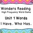 This packet includes the high frequency words used with the McGraw Hill Wonders reading program for grade 2 but can be used for any reading program...