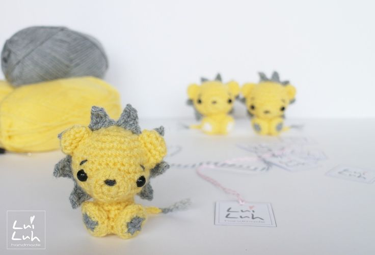 Amigurumi Baby Lion ( 9cm tall) - Free Crochet Pattern - Available in English and German here: http://luiluh-handmade.de/luiluh-baby-lion-pattern/