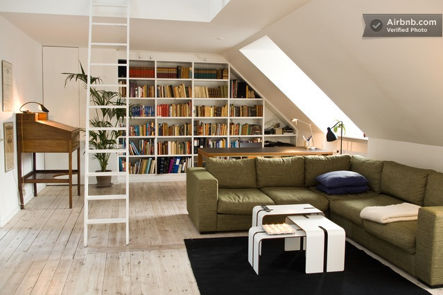 Penthouse for rent in central CPH in Copenhagen