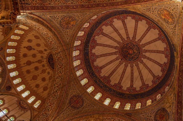 Sultan Ahmed Mosque Blue Mosque Istanbul Turkey 3