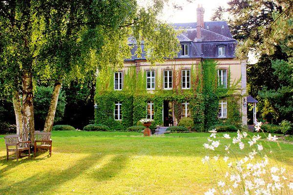 Château les Parcs Fontaines chambres d'hôtes de charme avec spa dans le Calvados en Normandie près de Deauville