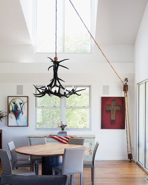 Porch House - Modern - Dining Room - kansas city - by Hufft Projects