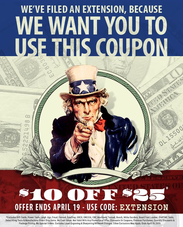 Last Day Coupon Fine Woodworking Project Woodworking Plans Woodworking