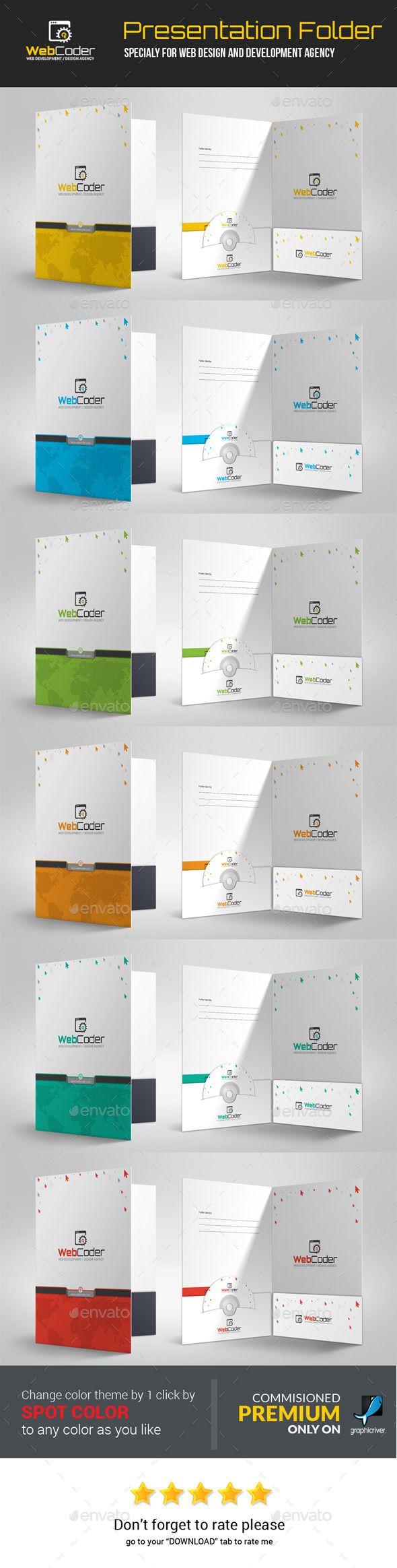 Web Coder   Web Design Agency Presentation Folder