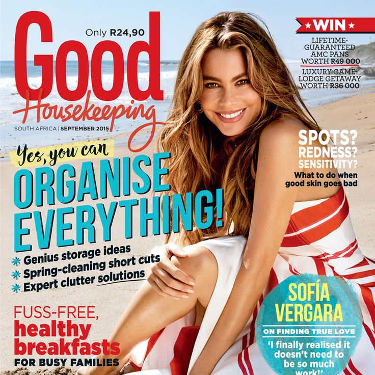 Our September issue is out now! Grab your copy today for amazing giveaways, clever tips & tricks and an interview with this month's cover star, the gorgeous Sofia Vergara. #SeptemberIssue #SofiaVergara #GHCover