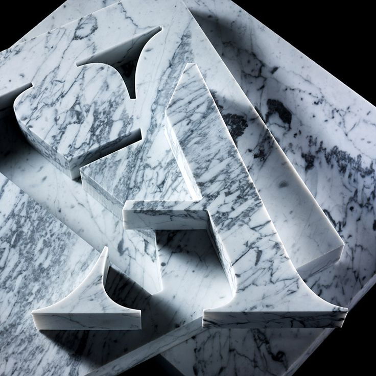 Carl Kleiner's beautiful, marble cut cover for Creative Review