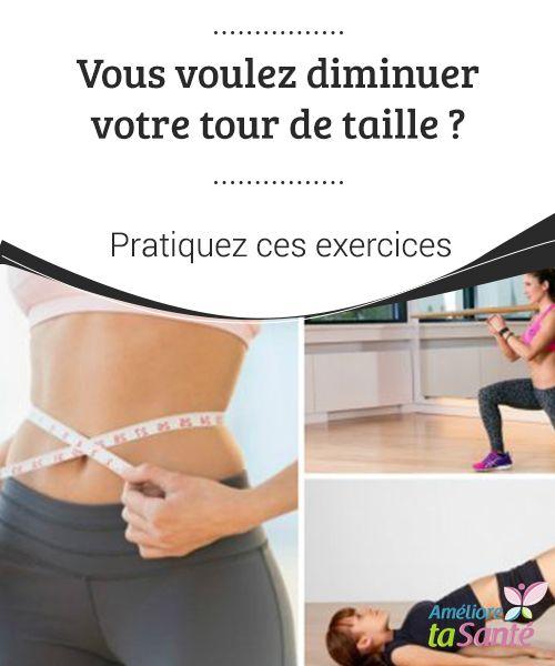 Vous voulez #diminuer votre tour de taille ? Pratiquez ces exercices Si nous #mettons en pratique une série d'enchaînements #d'exercices et que nous adoptons une alimentation saine et #équilibrée, nous perdrons des #tailles.