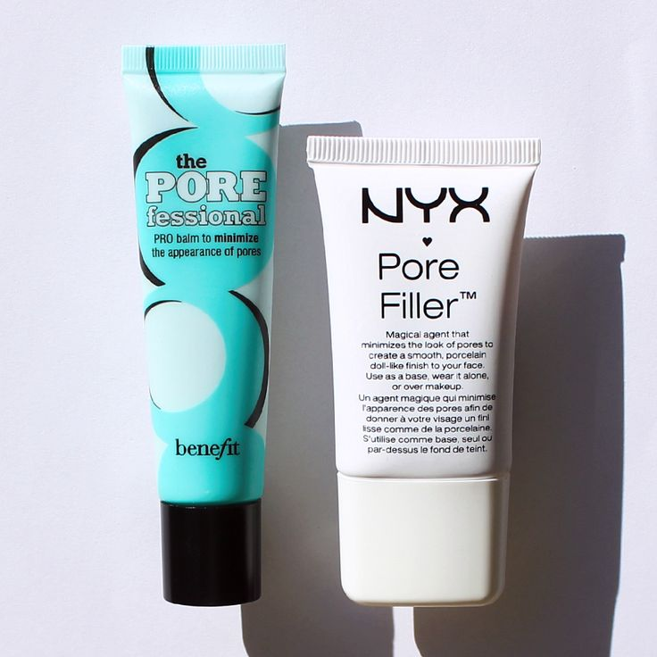 A good mattifying primer-like product can be a jewel in your beauty routine. Benefit Cosmetics The POREfessional [$31] is one such option (except for its fragrance + price). Instead, try NYX Cosmetics Pore Filler [$14]! It's fragrance-free and is near-identical in ingredients + performance to the POREfessional. Click for the review! #MakeupDupes #Beautypedia