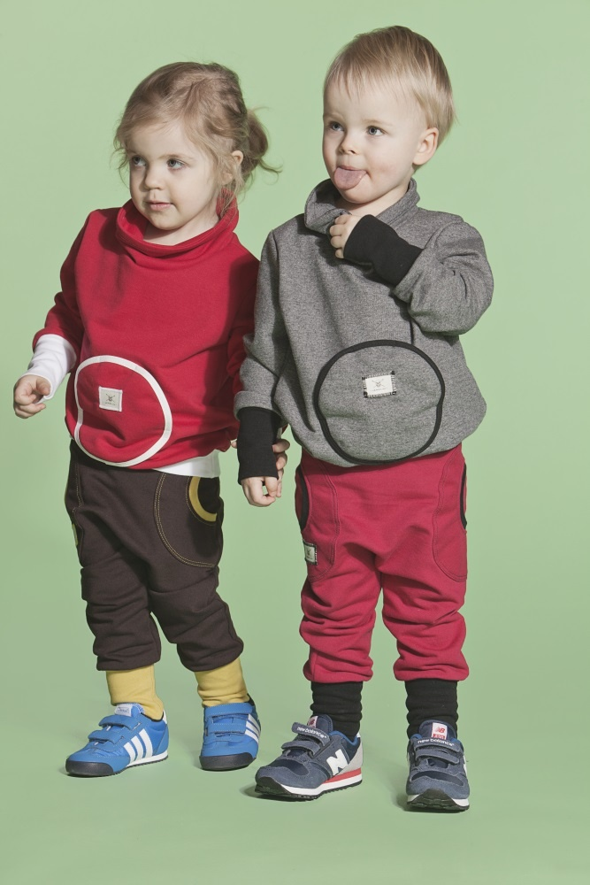 Girl Kaulus College- Red/White Pants One- DBrown/Lime  Boy Kaulus College- DGray/Black Pants One- WRed/Black