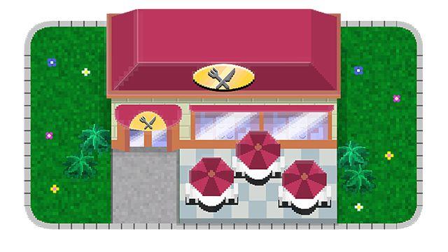 """Restaurant du jeu mobile Randstad """"Tiny Workers"""""""