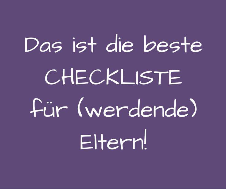 Die Checkliste für Eltern mit Behörden, Ämtern etc. Sie enthält Aufgaben für die Schwangerschaft und die Zeit nach der Geburt, und die Checkliste als PDF.