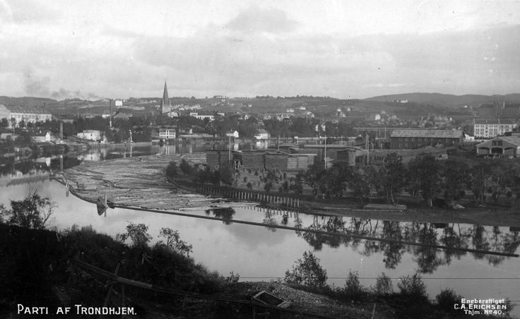 Trondheim, Norway in circa 1922