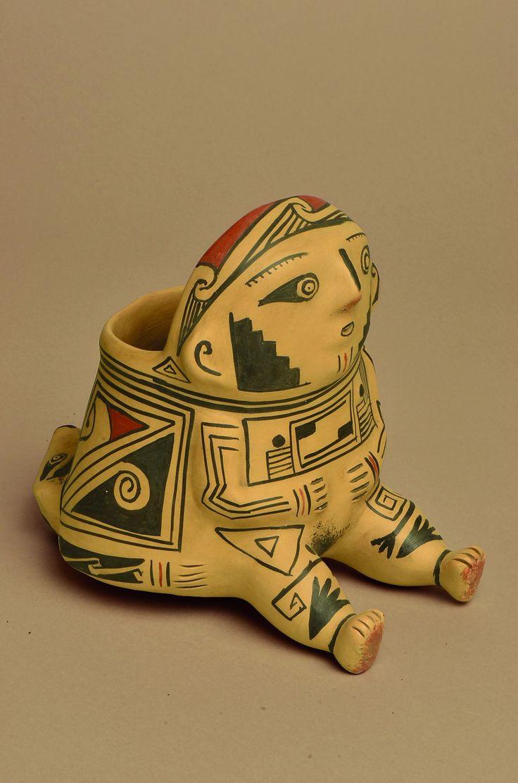 Pre-Hispanic Mexican Art and Artifacts for Sale. Hispanic Art, Tree Of Life Art, Maya, Vases, Clay Figures, Mexican Art, Native Art, Ancient Art, Prehistoric