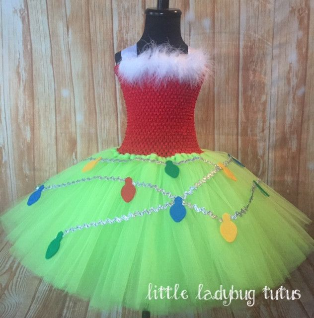 Grinch Tutu Dress, Grinch Tutu, Girls Grinch Costume, Grinch Christmas Tutu, Grinch Christmas Dress Little Ladybug Tutus Welcome to Little Ladybug Tutus where you will find unique and high quality han