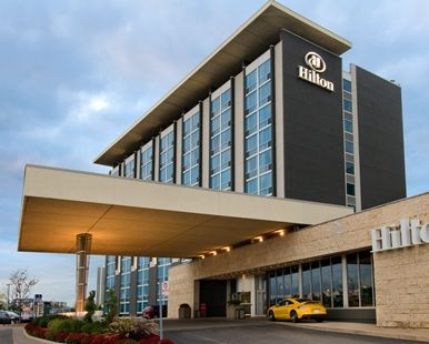 Hilton Toronto Airport Hotel & Suites, Mississauga, ON, Canada - Hotel Exterior   Ontario L4V 1N1