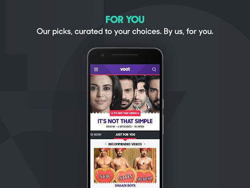 """Voot TV Shows Movies Cartoons v1.6.96 [Ad Free]   Voot TV Shows Movies Cartoons v1.6.96 [Ad Free]Requirements:4.2Overview:Voot is a mobile first video on demand platform part of Viacom 18 Digital Ventures the digital arm of Viacom 18 - one of the countrys largest growing media networks offering on demand TV.  Google Play Best of 2016 India Category Winner - """"Top Trending"""" in 2016 - """"Most Entertaining"""" in 2016  Reach out to us atsupport@Voot.comfor any queries/feedback/personal…"""