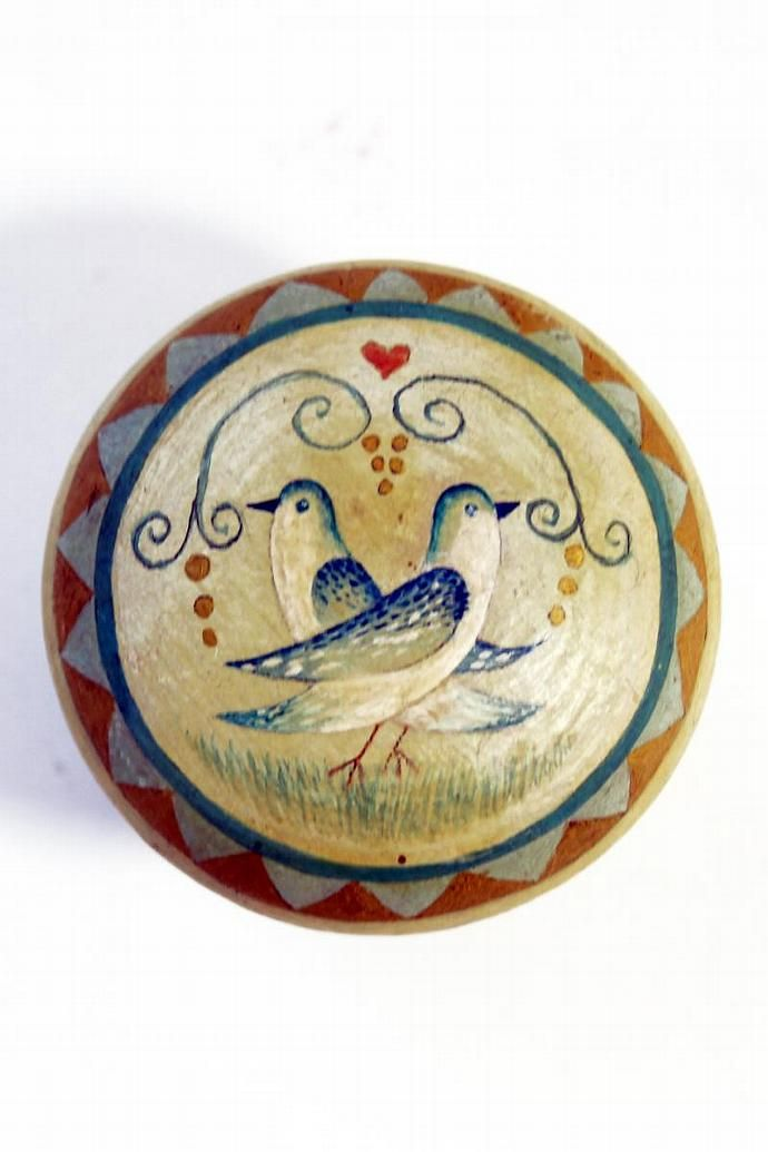 love bird dresser knobs, drawer pulls, shaddy chic design, large hand painted dresser knobs. by catherinecreations, $15.00 USD