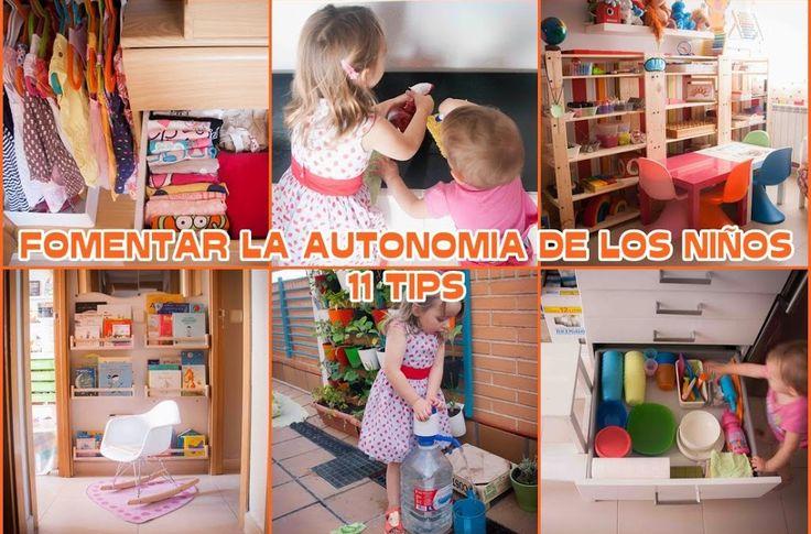 11 formas de fomentar la autonomía de los niños inspiradas en el método Montessori, muy buen artículo