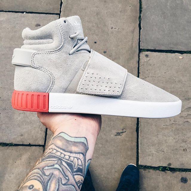 Adidas Men's Tubular Invader Strap Sneakers