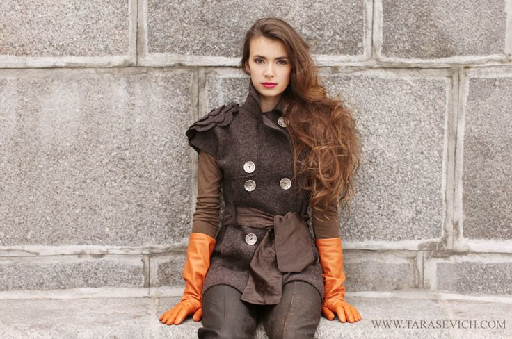 vest from the collection ALCHEMY OF STYLE by Natalya Tarasevich