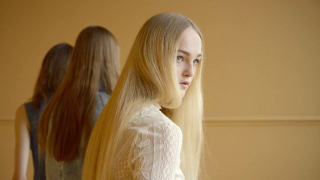 """Directed by Gordon von Steiner Featuring Ine Neefs and Jean Campbell Hair: Anthony Turner Make-up: Peter Phillips Stylist: Jane How Creative Director: Christopher Simmonds 1st AD: Kelly McGee 1st Assistant: Wen Colom Music: """"51 Ways to Leave Your Lover"""" by Tristesse Contemporaine"""