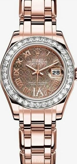This Rolex watch will catch an eye any day!