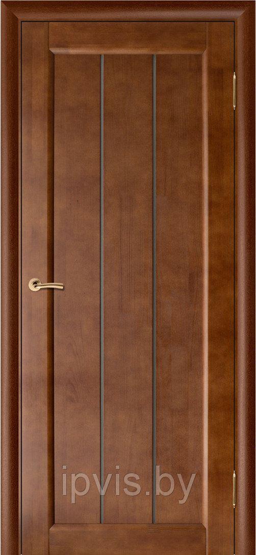 Двери межкомнатные Вега 19 темный орех (Вилейка) в г. Гомель. Отзывы. Цена. Купить. Фото. Характеристики.