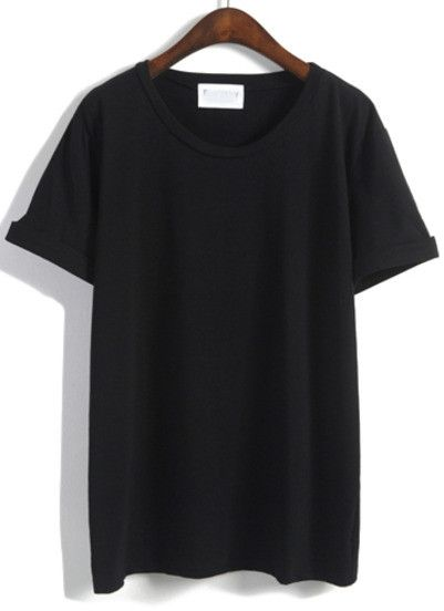 17 Best ideas about Black T Shirt on Pinterest | White t shirts, T ...