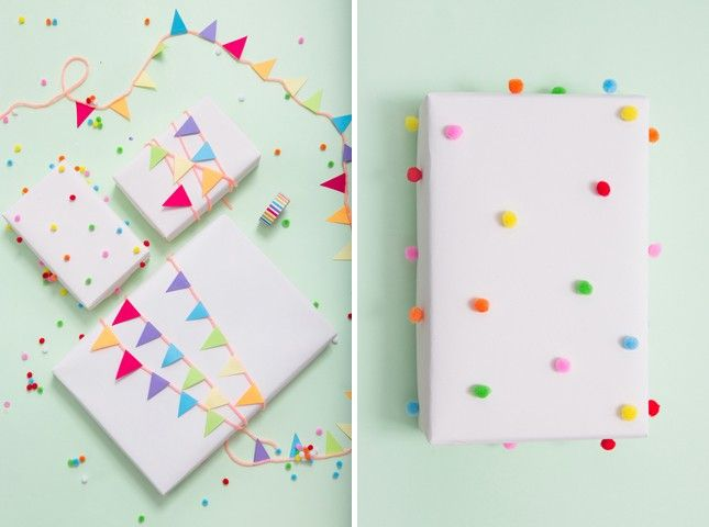 14 Adorable Gift Wrapping Ideas for Kid's Presents   Brit + Co