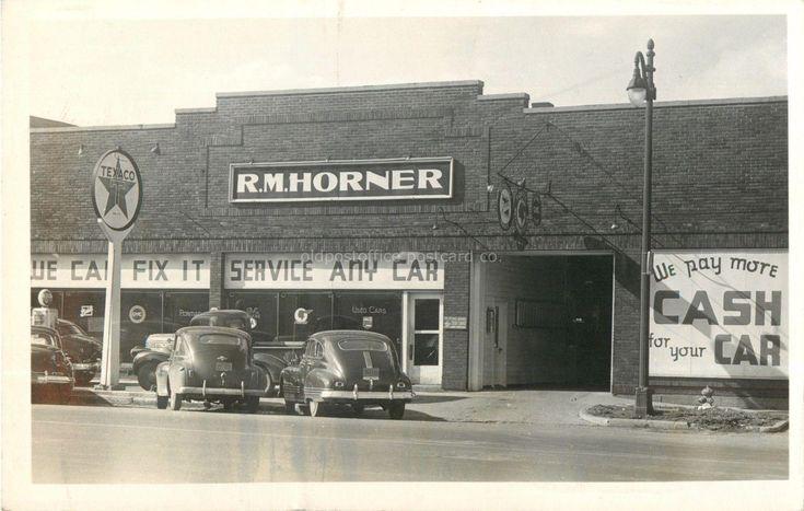 R.M. Horner, Pontiac Buick Dealership, Crawfordsville