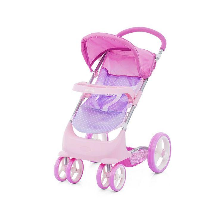Chipolino Lola játék babakocsi - Pink, Chipolino Lola játék babakocsi…