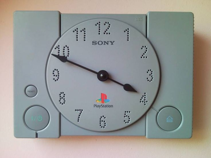 Turn your old PlayStation console into a light-up clock 【How-to】
