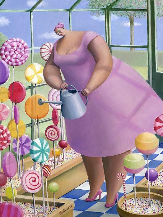 Приколы картинки толстушки