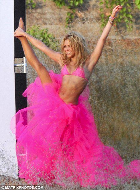 Shakira...inspirational!