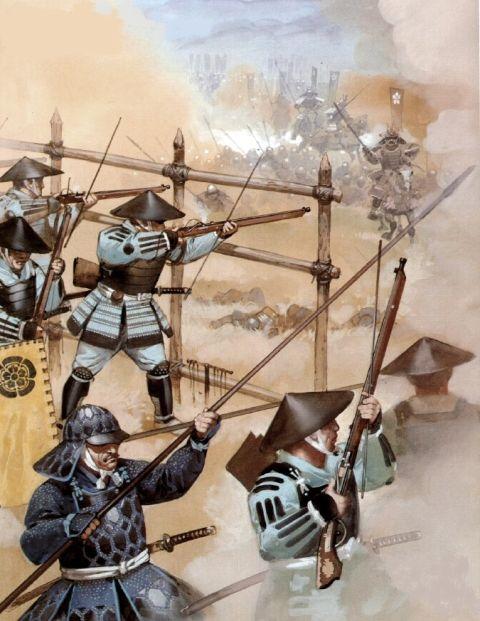 Barricades at Nagashino 1575