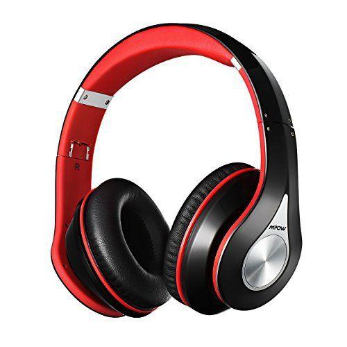 Mpow Bluetooth Stéréo, intra-auriculaires Écouteurs, suppression du bruit, bandeau pliable, conception élastiques ergonomiques, avec…