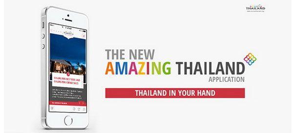 Tailândia promove turismo com lançamento de nova aplicação móvel | ShoppingSpirit