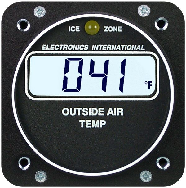 ELECTRONICS INTERNATIONAL A-1 OUTSIDE AIR TEMPERATURE FROM AIRCRAFT SPRUCE