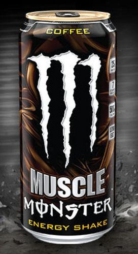 Muscle Monster Energy Shake, Coffee