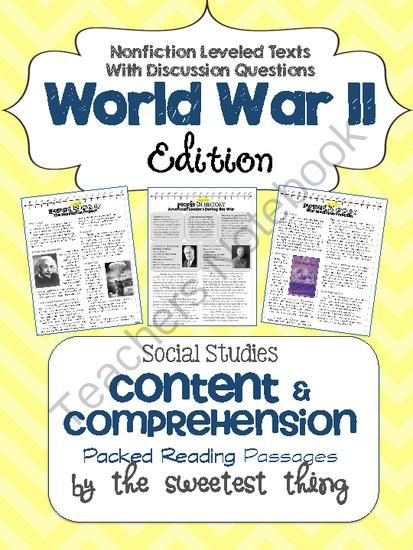 social studies world war ii essay Themed packet world war ii printable book (5-12) study the origins, social impact, politics, and tragedy of world war ii through the resources in this printable book.