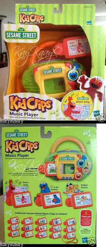 Radios Musical Toys 145943: New Rare Sesame Street Kidclips Kid Clips Music Player Elmo S Song -> BUY IT NOW ONLY: $69.99 on eBay!