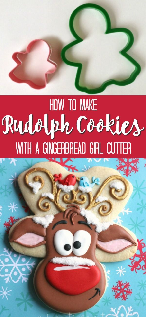 Whimsical Reindeer Cookies with Cookies with Character {Guest Post} – The Sweet Adventures of  Sugar Belle