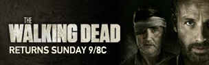 Click to watch Superbowl TV Ad - The Walking Dead returns Sunday night! Can't wait!!! I'll be involved with zombies ALL weekend! :)