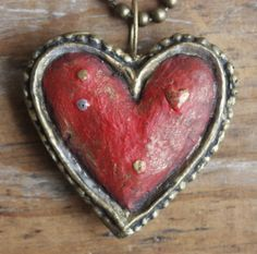 Antique Red Heart ♥